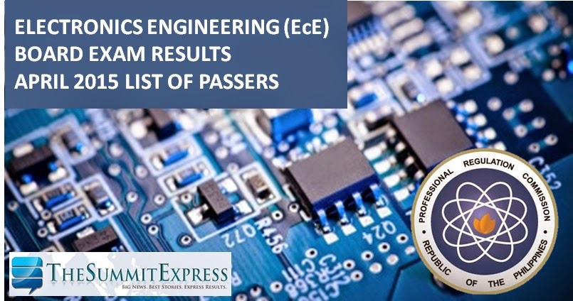 April 2015 ECE, ECT board exam results