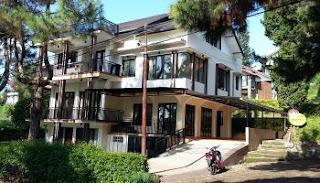 villa di lembang untuk kegiatan indoor dan outdoor