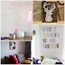 5 ideias pra decorar uma parede branca!