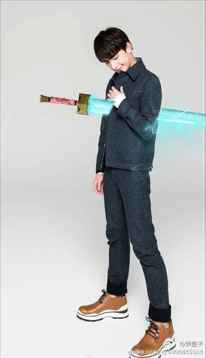 Gong Yoo's Goblin Sword takes over the internet - DramaPanda