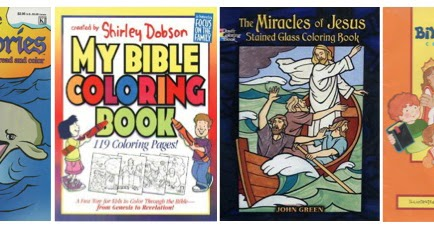 Additional Bible Coloring Pages
