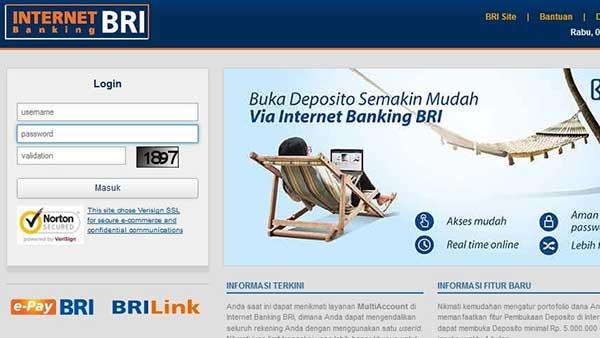 Lupa Alamat Email BRI Internet Banking