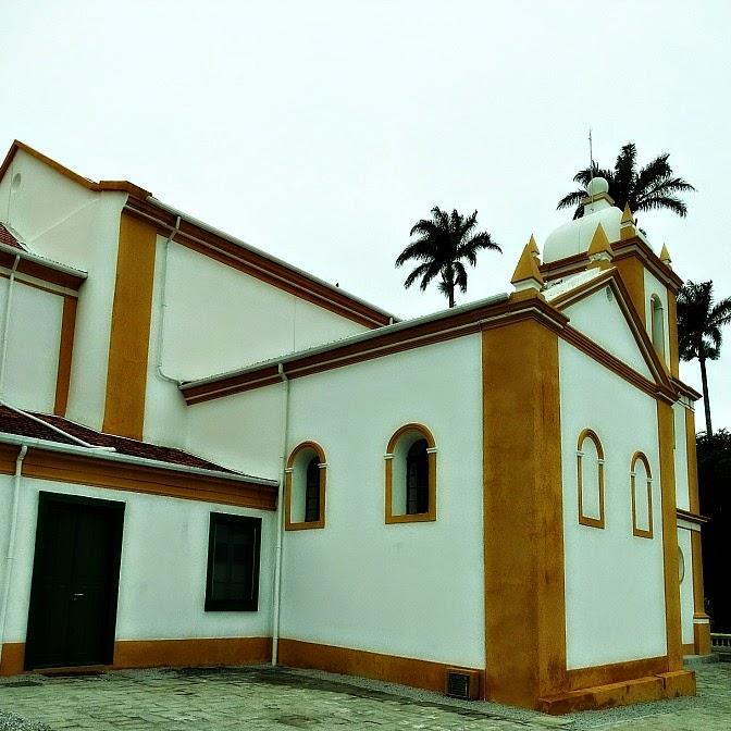 Lateral da Igreja Matriz de São José