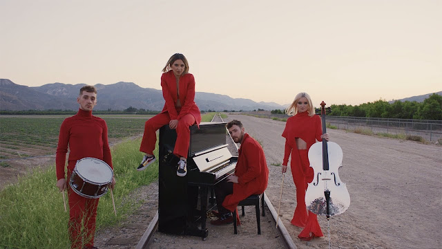 "Clean Bandit Premiere ""I Miss You"" Video ft. Julia Michaels"