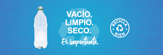 An example of a Spanish language web banner available in the Recycle Right partner toolkit.