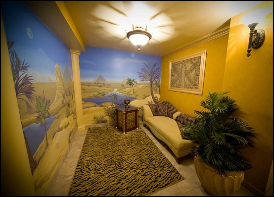 Egyptian wall paper mural - Egyptian wall paper murals