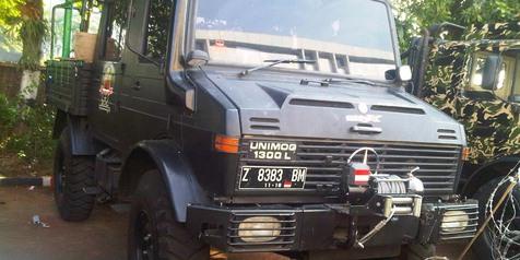 Spesifikasi Mercedes-Benz Unimog 1300L 'Prabowo'!