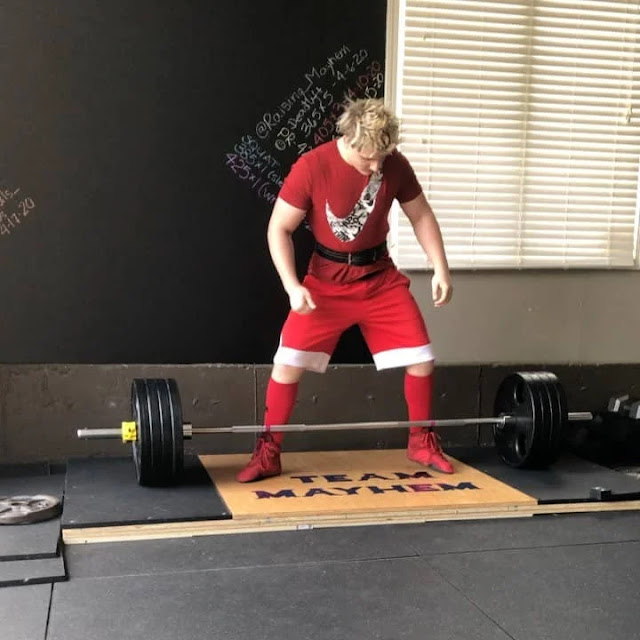 13 Years Old Morgan Nicholls Doing Deadlift With 202 Kg and Bench Press 151 kg