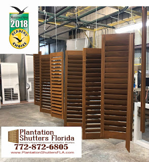 Palm City Area Plantation Shutters