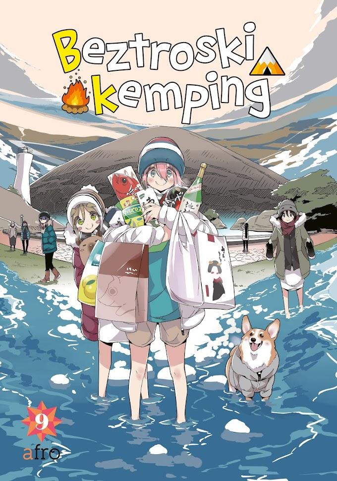 (I zu)nowu na wyprawie w terenie! - recenzja mangi Beztroski kemping (tom 9)