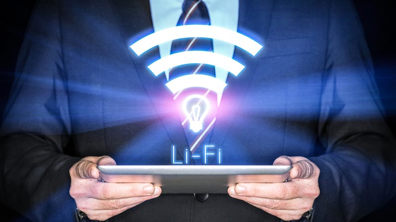 Li-Fi Is A future Of INTERNET