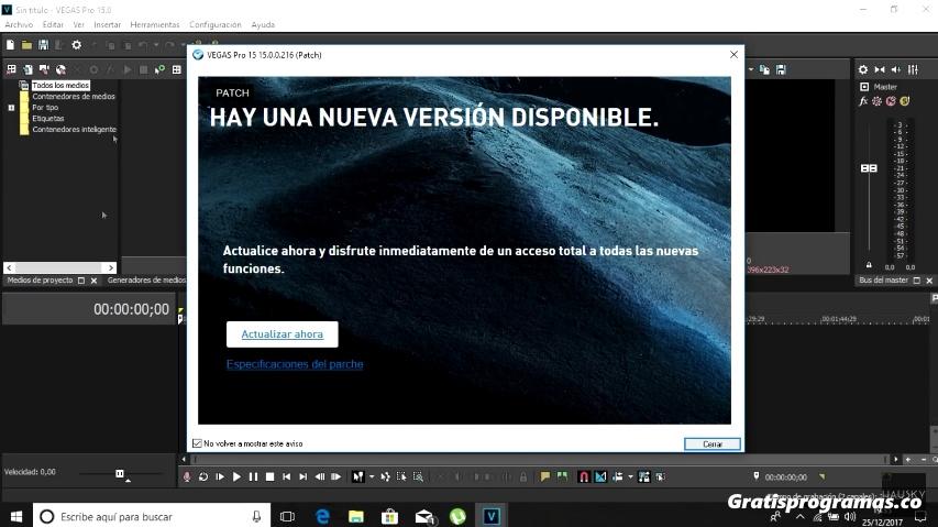 Sony Vegas Pro 15 Full Español