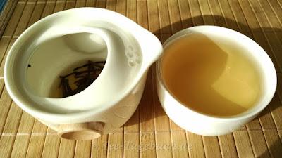 Paper & Tea Be-Bop im Einsatz - erster Aufguss