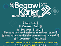 Yuk ke Begawi Karier Universitas Lampung, Tersedia Banyak Loker Lho