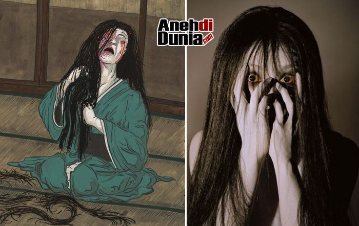 Hantu Onryo Jepang