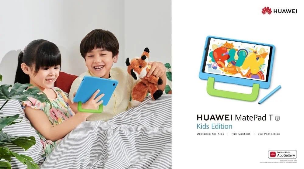 HUAWEI MatePad T 8 Kids Edition Launches in PH for Only Php8,999 with Php8,996 Worth of Freebies