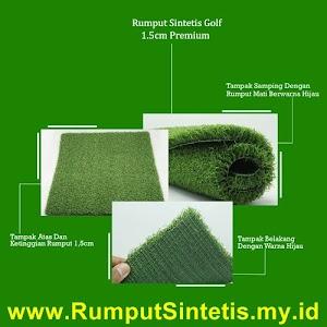 Rumput Sintetis Golf 1.5 CM Premium
