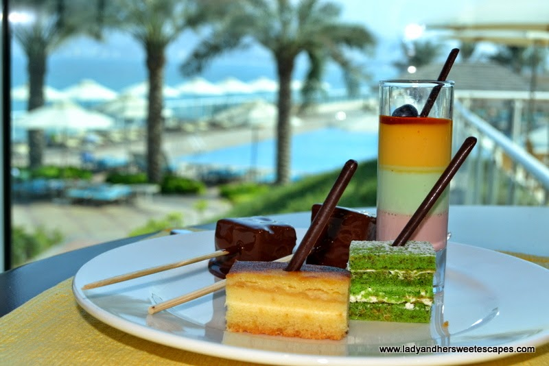 desserts at Al Murjan in Oceanic Hotel