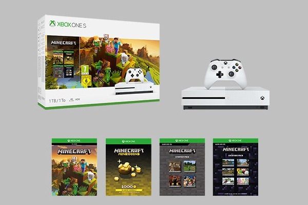 Microsoft announces Xbox One S Minecraft Creators Bundle
