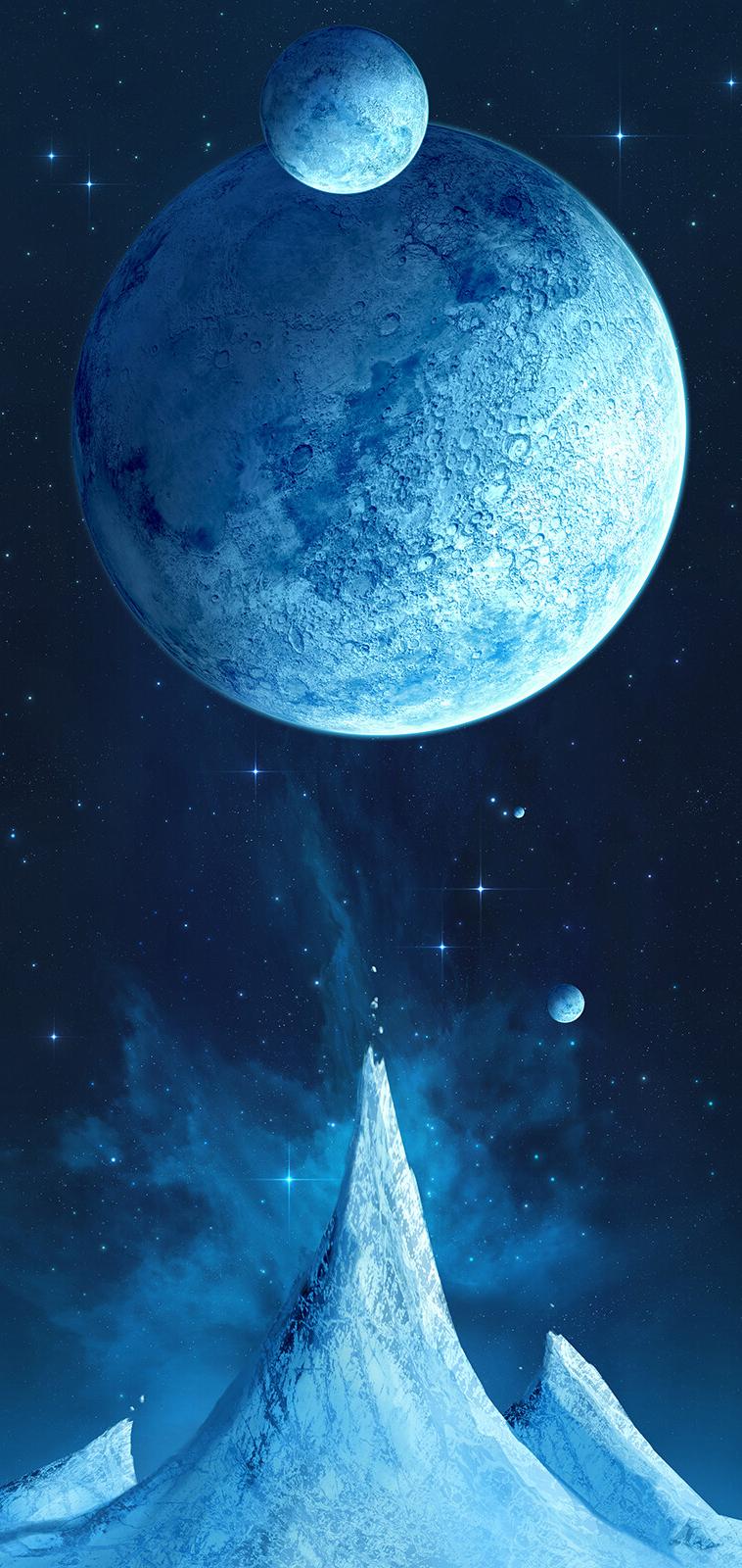 ice-world-planet-wallpaper-phone-hd