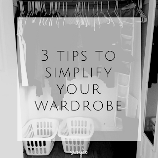 3 simple tips to simplify your wardrobe