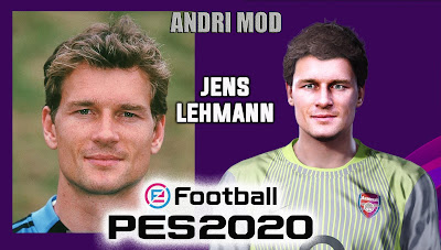 PES 2020 Faces Jens Lehmann by Andri Mod