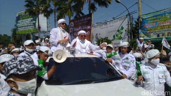 Pemkab Bogor Kaji Sanksi untuk Habib Rizieq Terkait Kerumunan di Megamendung