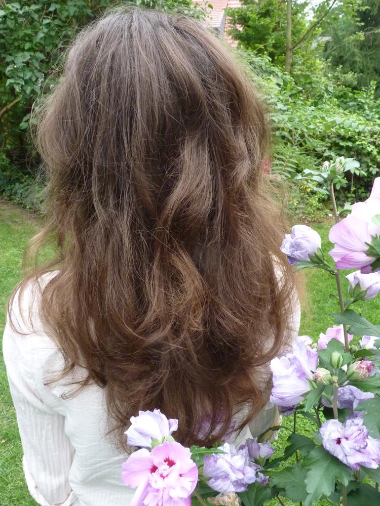 Haare nach 8 Monaten Water Only (WO)