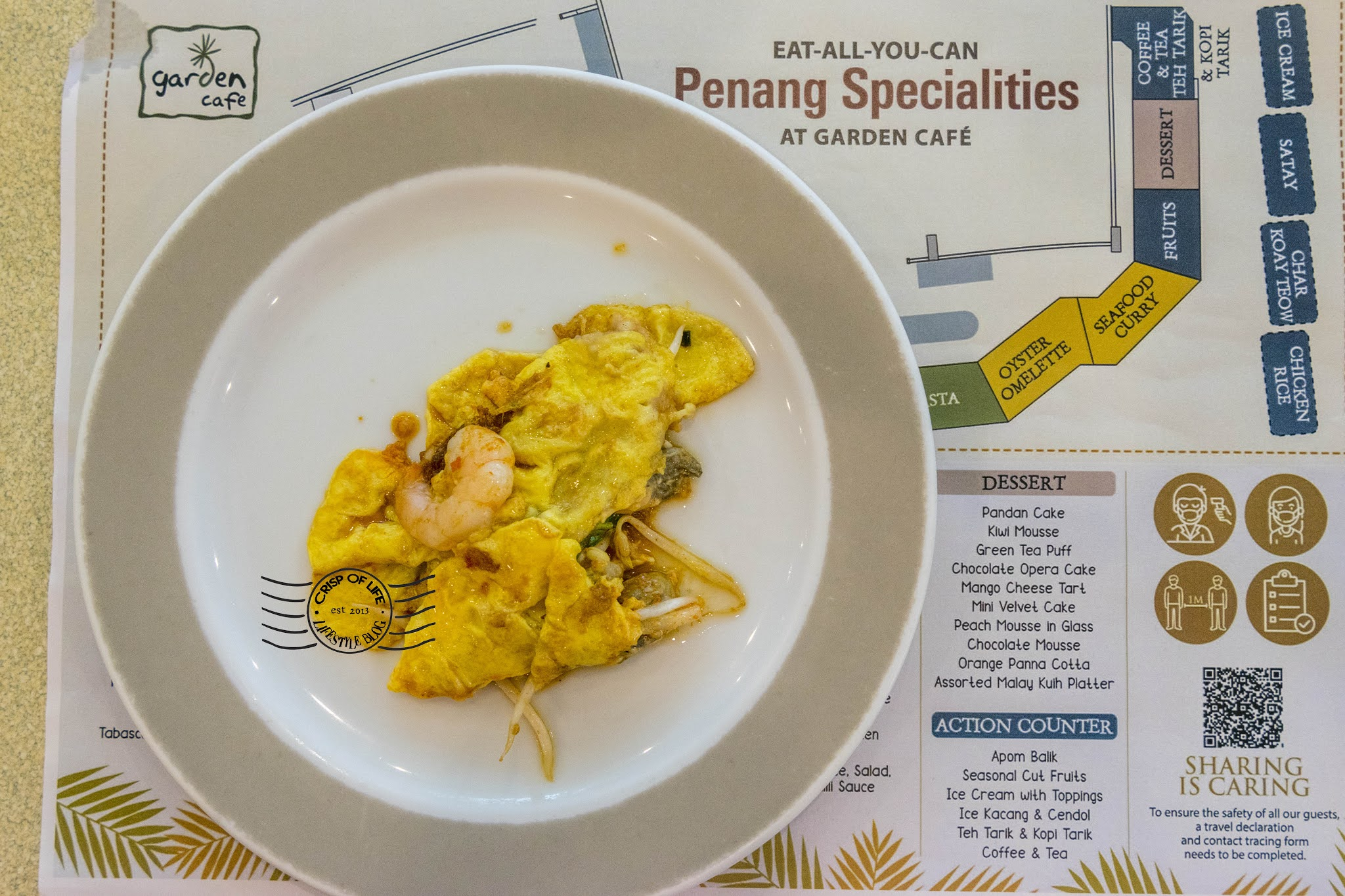 Eat-All-You-Can Penang Specialities with Buy 1 Free 1 Promotion @ Garden Cafe, Golden Sands Resort