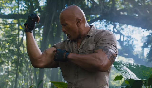 the rock in jumanji 2 trailer