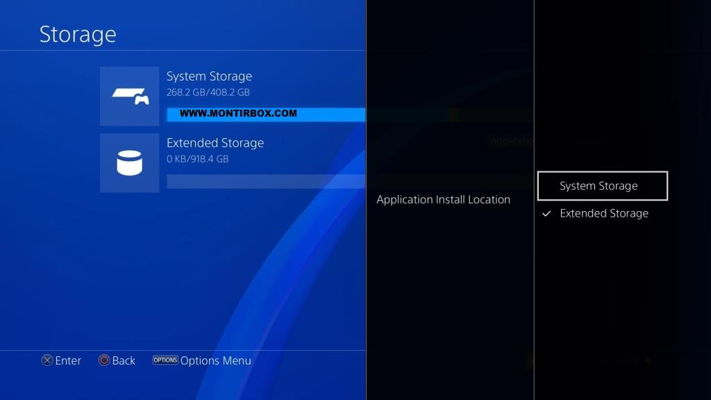 HDD external PS4