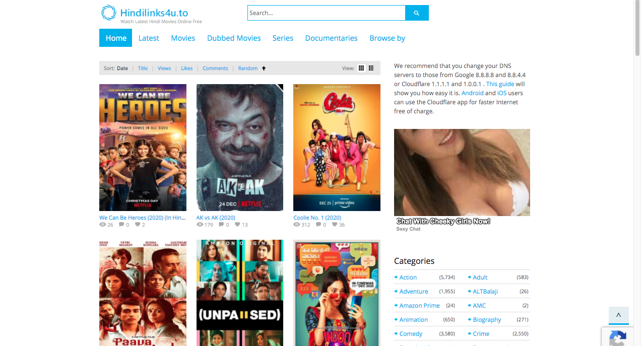 Hindilink4u to new domain