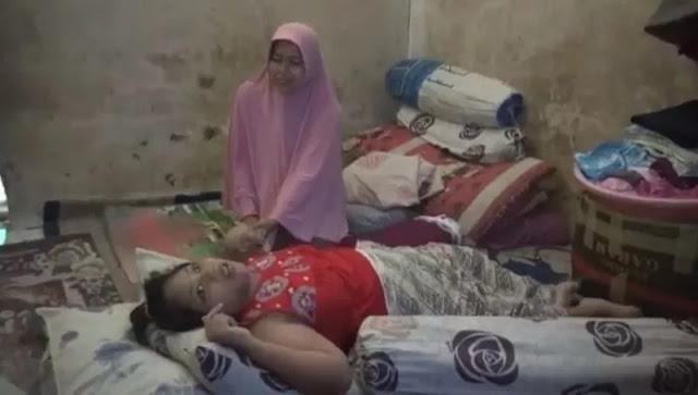Derita Saidah, Gadis Lumpuh Hidup Sebatang Kara Gegara Ibunya Dibui