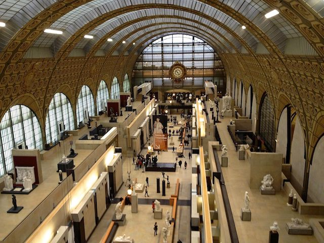 Museu d'Orsay interior
