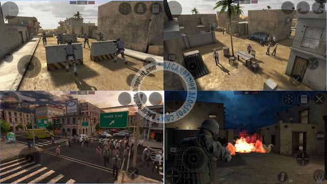 zombie combat simulator Apk mod money
