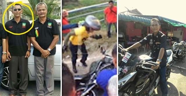 Lelaki Kena Terajang Samseng Baju Merah Inspektor Polis Rupanya, Senarai Nama Samseng Dah Ready, Tunggu dan Lihat