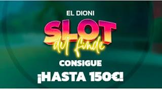 Mondobets promo slot Dioni 17-19 septiembre 21
