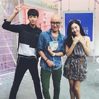 SNSD Tiffany and Lee Cheolwoo