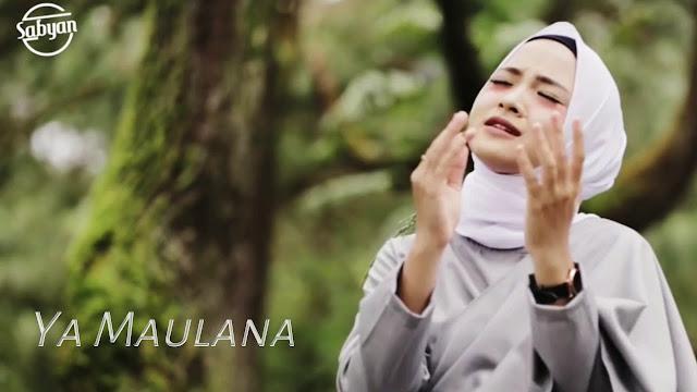 Sabyan - Ya Maulana Chord Kunci Gitar