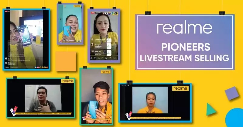 Realme Philippines innovates livestream online selling
