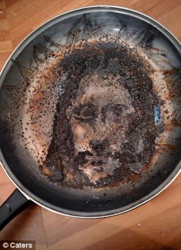 Hình ảnh Chúa Giê-su xuất hiện sau vụ sạt lở đất