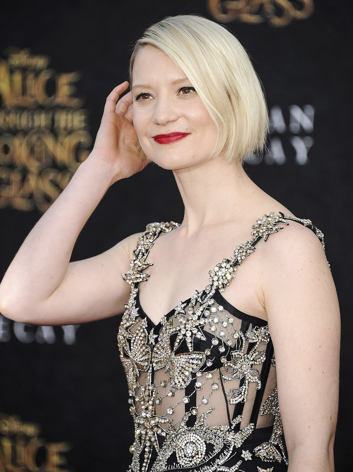 Arts Cross Stitch: Actress, @ Mia Wasikowska