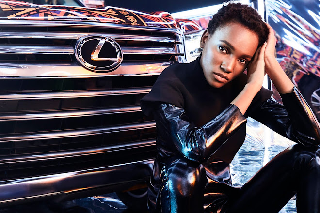Herieth Paul for Lexus LX and Black Panther advertising campaign