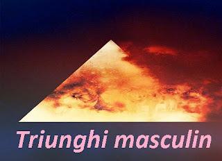 Simbol triunghi masculin de foc