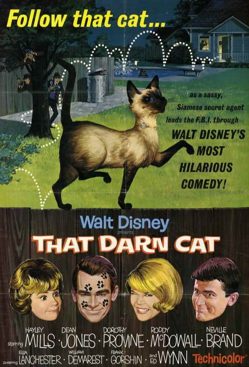 That Darn Cat! [1965] [DVDR] [PAL] [Español]