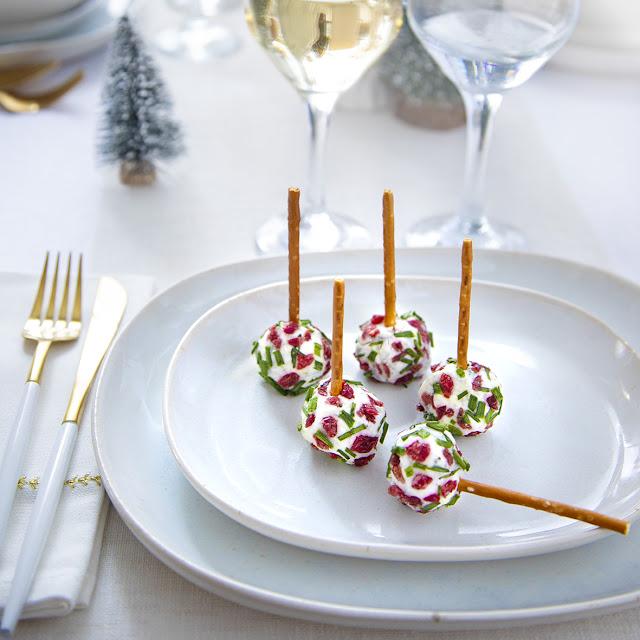 Sucettes cranberries et herbes