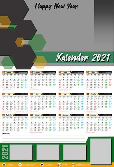 Download 11+ 37+ Template Kalender Dinding Kalender 2021 ...