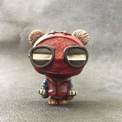 """Spider-Wok"" GeekWok Star Wars x Spider-Man Resin Figure by UME Toys"