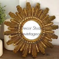 Espejos sol pequeños vintage. espejos para composición de paredes