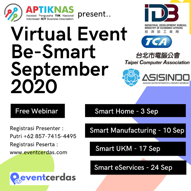 VIRTUAL EVENTS BE-SMART SEPTEMBER 2020